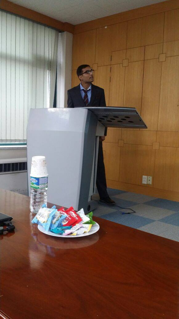 Invited Lecture @ Chonnam National University, South Korea